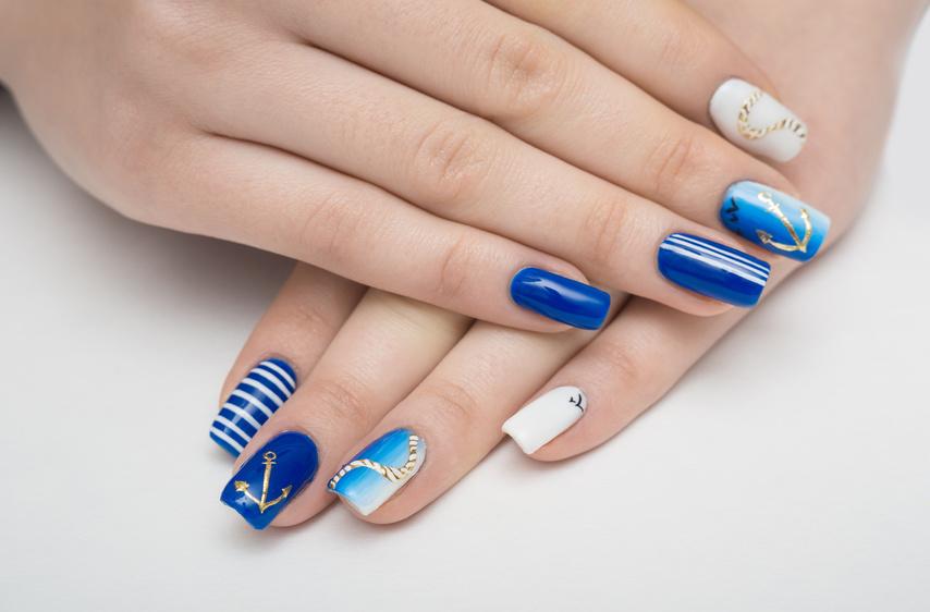 paznokcie stylizacja