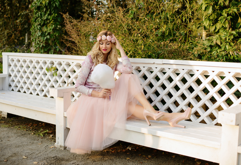 sukienki tiulowe stylizacje
