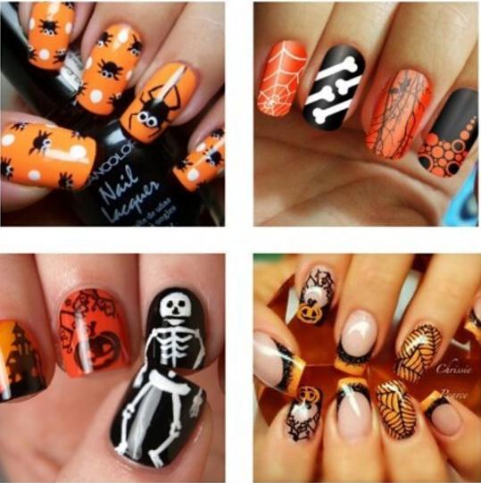 paznokcie na halloween 11
