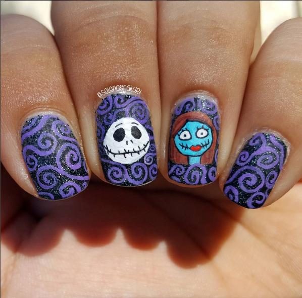 paznokcie na halloween 15