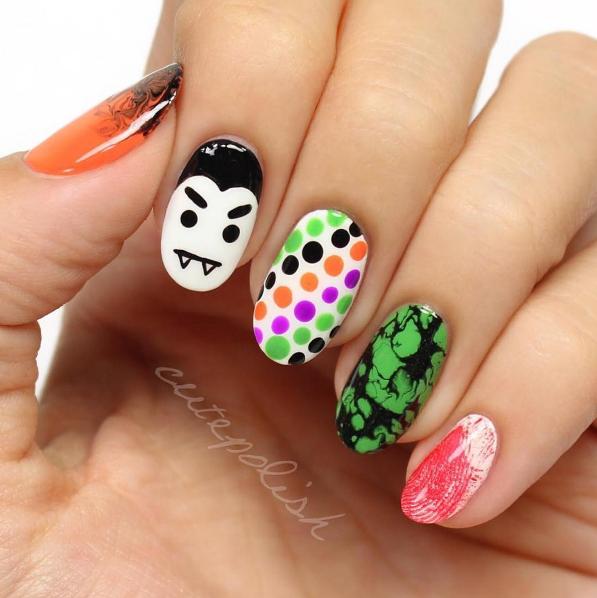 paznokcie na halloween 3