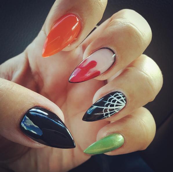 paznokcie na halloween 5