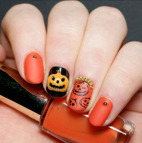 paznokcie na halloween 7