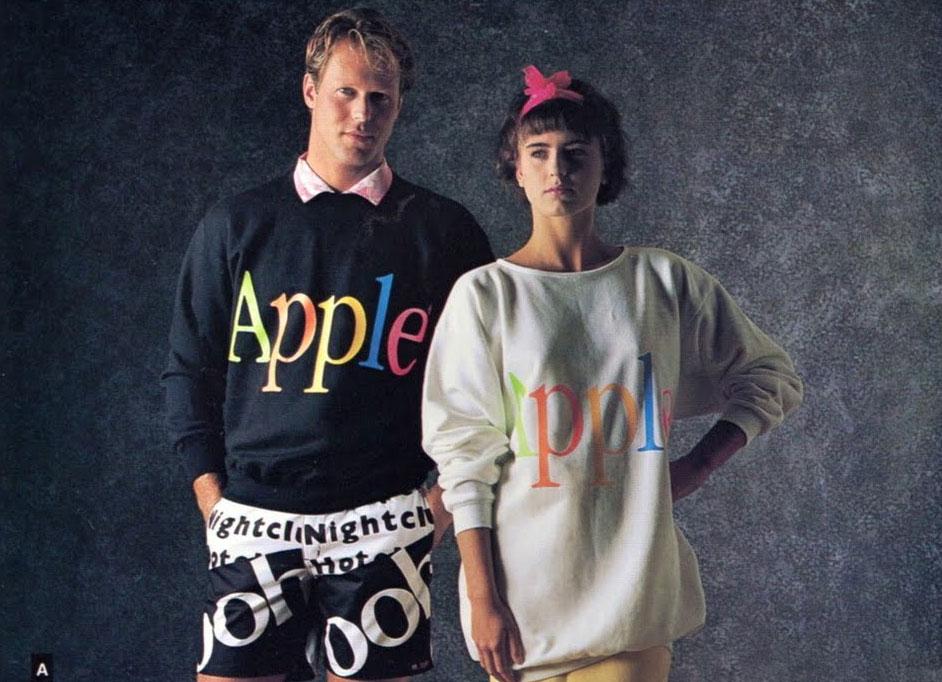 apple-ubrania