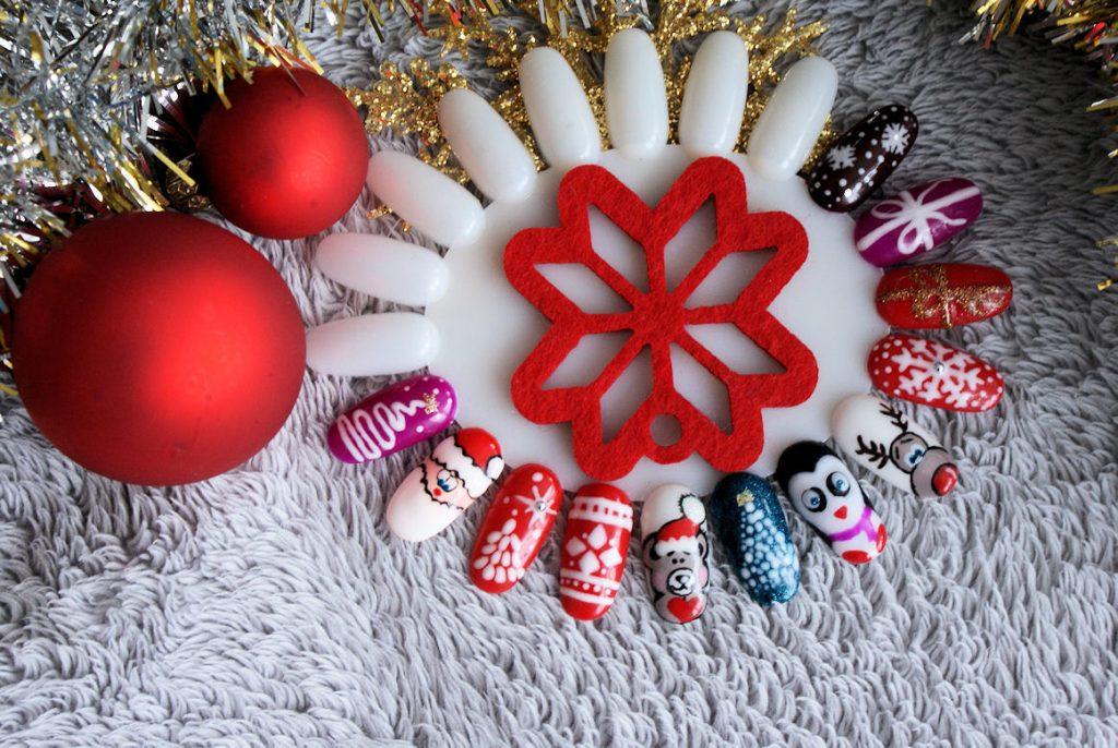 Pomysły Na świąteczne Paznokcie Inspiracje Modowe Blog Modowy