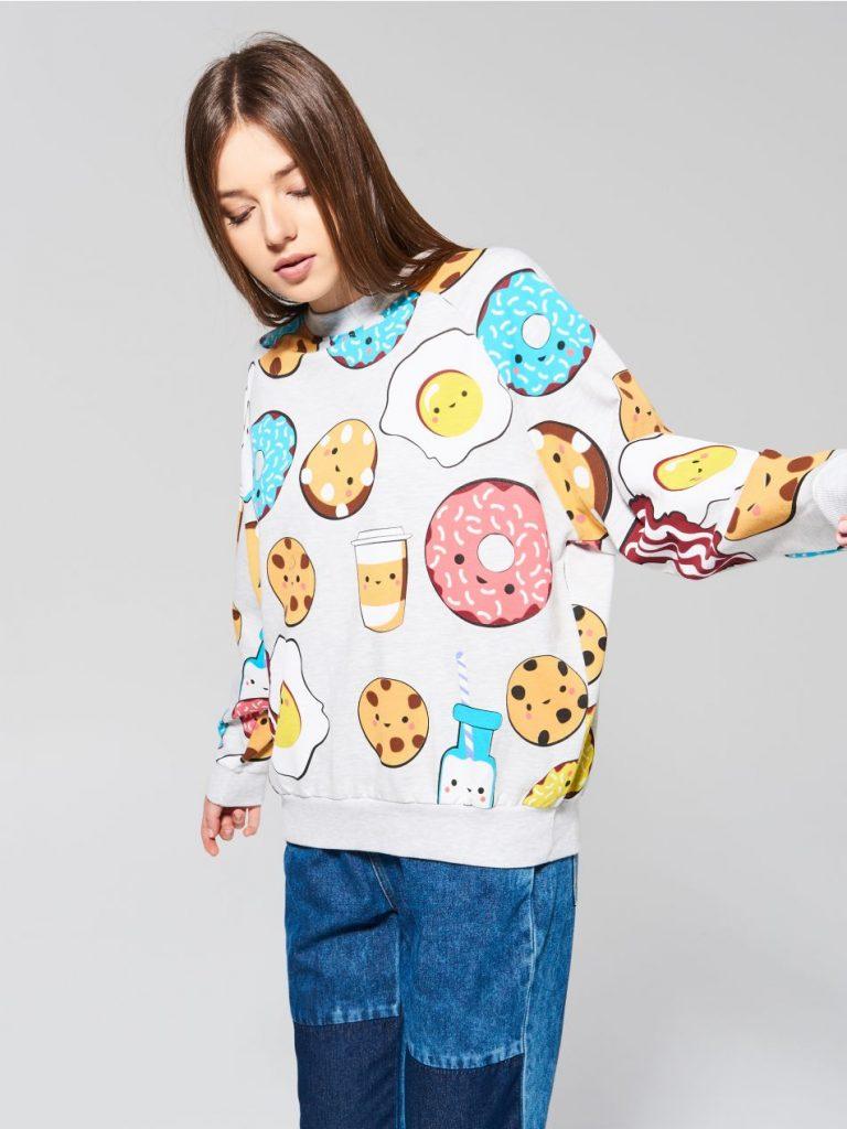 36dbf2a56c60c0 W sklepach znajdziesz też bardzo popularne bluzy z motywem psów oraz kotów.  Jeśli nie lubisz rzucać się w oczy, możesz wybrać gładki jednokolorowy  model ...