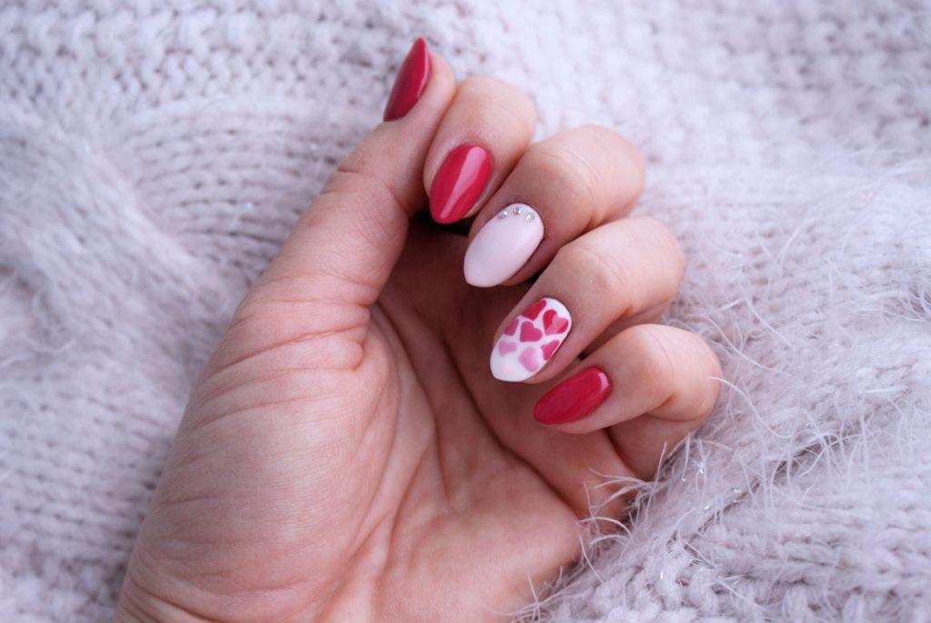 Walentynkowy Manicure Hybrydowy Z Produktami Nails Company