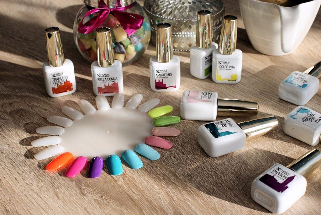 neonowe lakiery nails company
