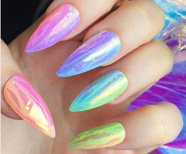 Paznokcie Na Lato Czyli Pomysły Na Wakacyjny Manicure Inspiracje