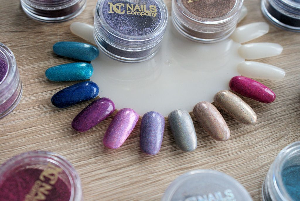 efekt holograficzny od nails company