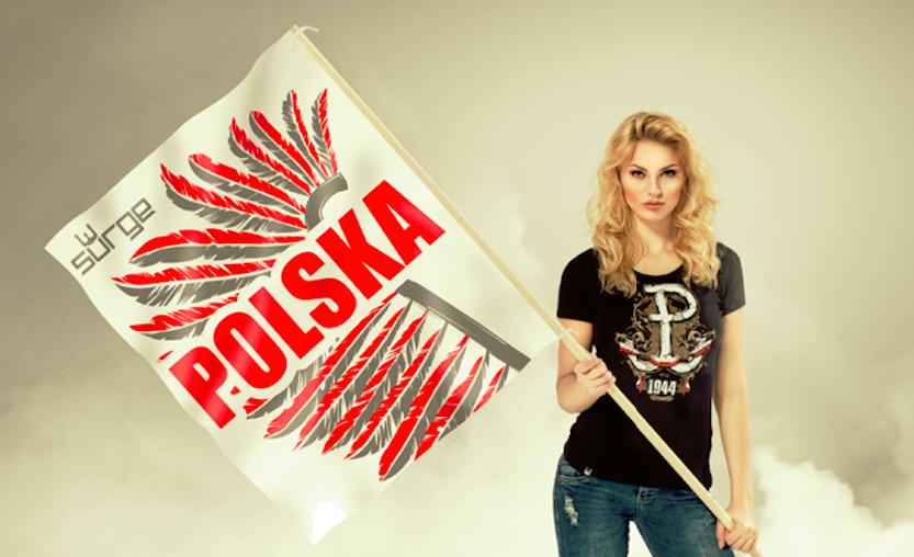 58233a566 Odzież patriotyczna stanowi połączenie trendów modowych z ideologią  patriotyczną. Za prekursorów tego nurtu w Polsce uważa się markę Surge  Polonia, ...