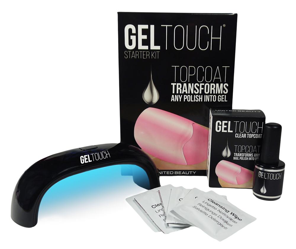 Gel Touch United Beauty Top Coat Który Zamienia Zwykły