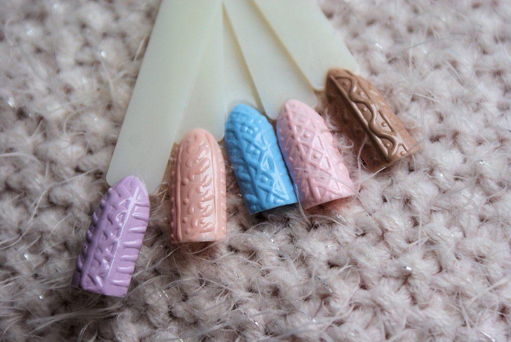 manicure sweterki