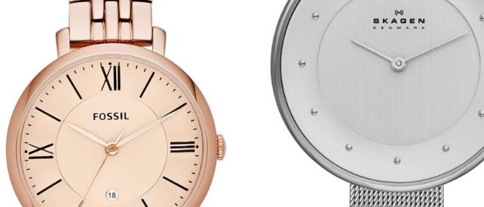 modne zegarki damskie na prezent