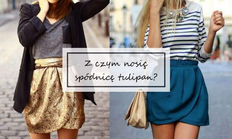 Spódnica tulipan Spódnice i spódniczki Moda damska na