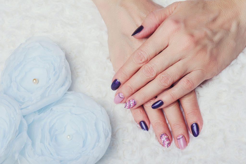 krótki manicure 2018