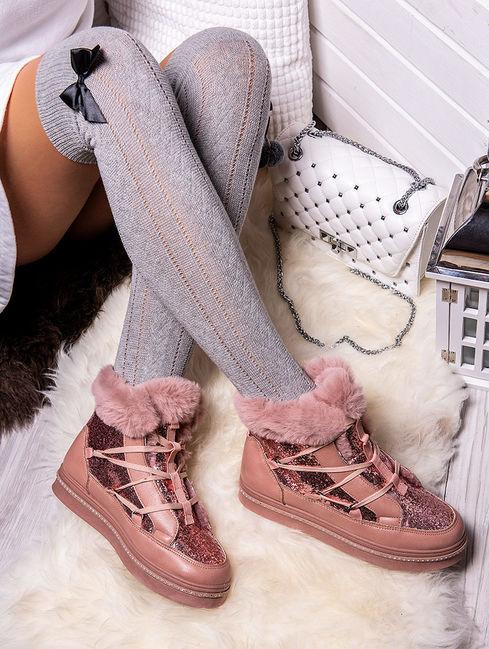 modne buty zimowe damskie 2019