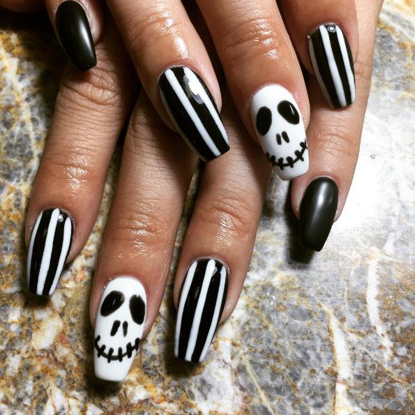 paznokcie na halloween 12