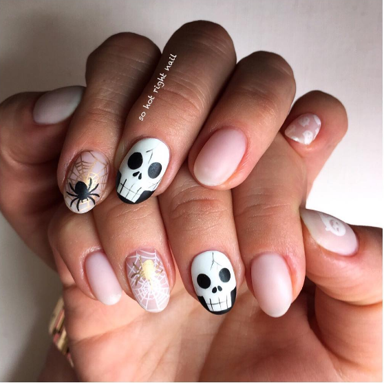 paznokcie na halloween 2