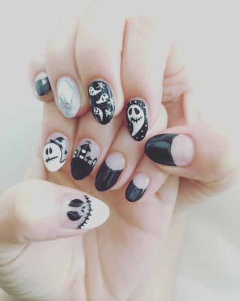 paznokci na halloween 8