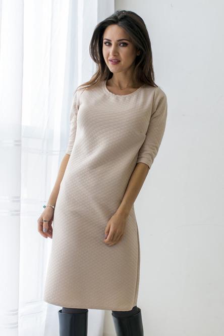 bezowa-sukienka