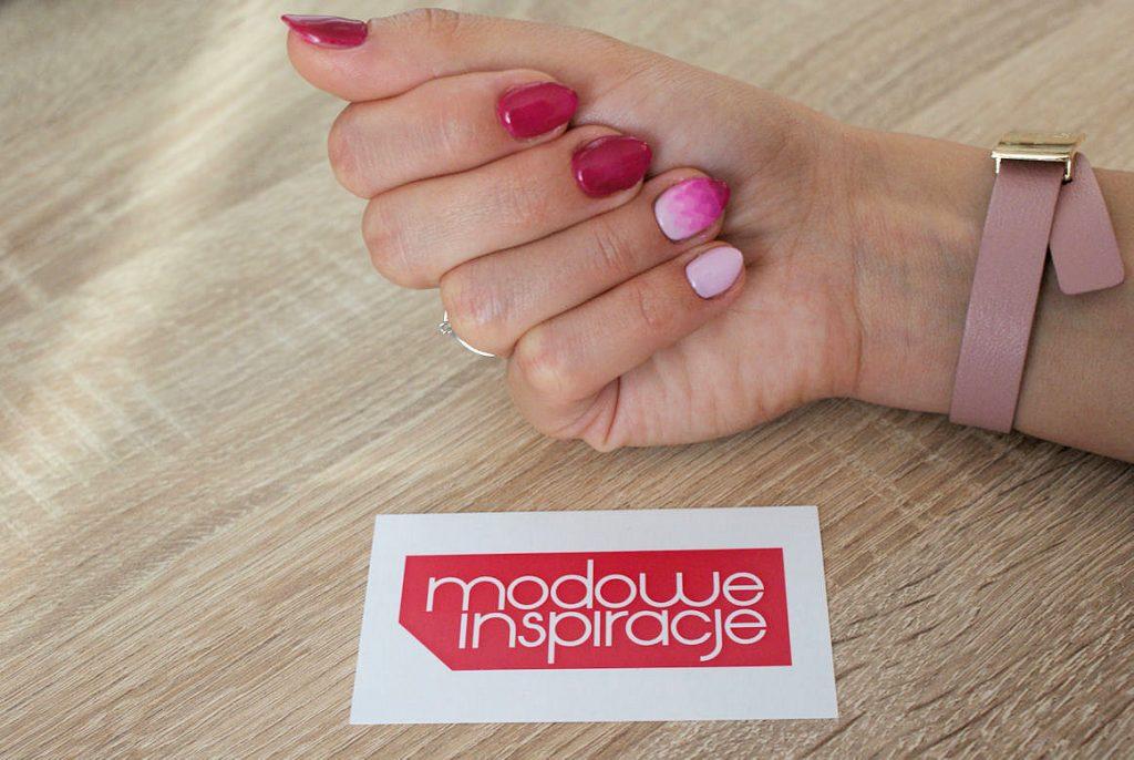 geometryczne ombre manicure 2